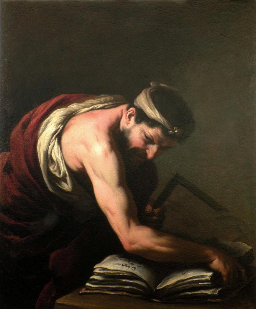 """Antonio Zanchi  - """"Matematico""""  -  cm. 110  x 92"""